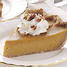 I make this every year . . . it is by far the best pumpkin pie I've ever had and it always gets rave reviews. The secret is the honey in the pumpkin mix and the ground oatmeal in the crust. MMM...