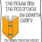 Mouse And The Motorcycle Lesson Plans book in elementary school the mouse and the motorcycle lesson plans ...