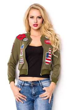 Casual Wear, Jackets For Women, Bomber Jacket, Sport, How To Wear, Fashion, Casual Outfits, Casual Clothes, Moda