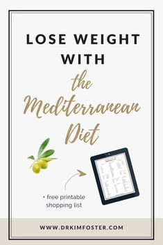 How To Lose Weight With The Mediterranean Diet ; weight loss, mediterranean diet, pleasurable diet, no-diet weight loss #mediterranean diet