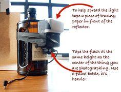 Viau Photography | Making an Ordinary Plastic Bottle Look... Extraordinary
