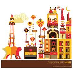 The Sight Project | Pakistan by Ayesha Haroon, via Behance