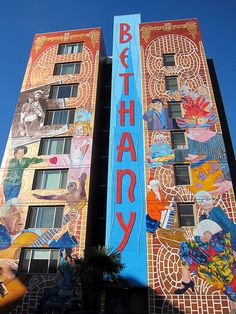 Murals in the Mission district of San Francisco