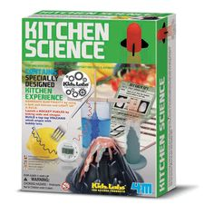 Kitchen Science – Dinosaurs Galore. Yep its all here in just 1 box fantastic science for girls and boys and nan, Gran and Pop!