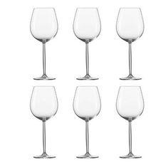 Schott Zwiesel Cru Classic Wijnglazen Bourgogne L - 6 st. Schott Zwiesel, Le Gin, Gin Tonic, Bordeaux, Wine Glass, Diva, Cocktails, Tableware, Water