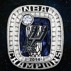 SPURS 2014 NBA FINALS CHAMPIONS
