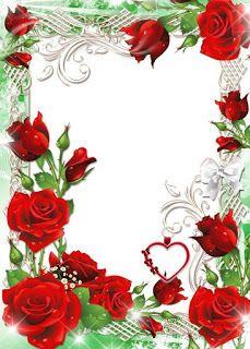 Gify i Obrazki: RAMKI Frame Border Design, Page Borders Design, Photo Frame Design, Rose Frame, Flower Frame, Picture Borders, Boarders And Frames, Family Photo Frames, Birthday Frames