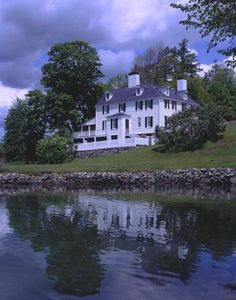 Sayward-Wheeler House, York Harbor, Maine, c. 1718. Shipping merchant Jonathan Sayward,  purchased the house in 1735. He was a successful businessman, a judge and leading citizen in York, despite being a Loyalist during the Revolutionary War.
