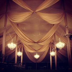 See...? Christine didn't let her degree in fashion design go to waste, after all.  #Fabric #design and installation for @ormondeproductions. #sperrytent #tent #wedding #tentwedding #reception #dramatic #eventstylist #event #ceilingtreatment #tentdraping #rigging #loadin #progressphoto #luxury #elegance #formal #blacktie #swags #voile #capecod #mylifeintheair #gobigorgohome
