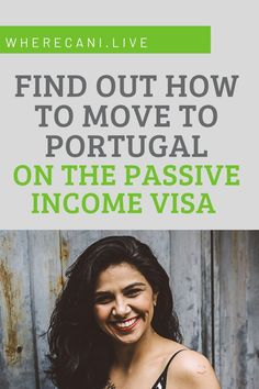 A move to Portugal may be easier than you think. This visa type is the most popular. Find out how you can get it #portugal #visas #expat via @wherecanilive Work Abroad, Study Abroad, Getting A Passport, Immigration Officer, Residency Programs, Living In Europe, Visit Portugal, Cool Countries
