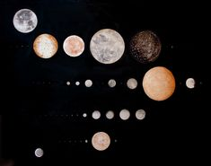 moon print by Stella Maria Baer