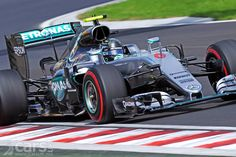 Nico Rosberg grabbed pole position from Lewis Hamilton in the 2016 Hungarian Grand Prix in the dying minutes of Q3. Both McLarens in top 10.