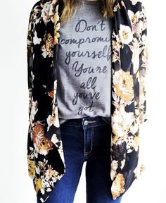 Janis Joplin don't compromise yourself tshirt