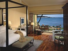 Turtle Bay Resort on the North Shore of Oahu...view from the Beach Cottage.