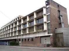 Le Corbusier; Usine Claude et Duval, Saint-Dié-des-Vosges, France, 1946