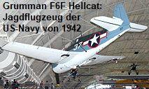 Grumman F6F-3 Hellcat: trägergestütztes Jagdflugzeug der US-Navy von 1942 Us Navy, Grumman F6f Hellcat, Aircraft, Helicopters, World War Two, Aviation, Planes, Airplane, Airplanes