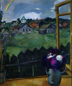 Marc Chagall - Window Vitebsk (1908)