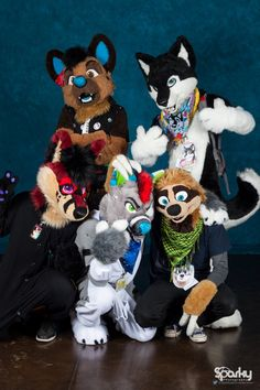 Itty Bitty Fur Con 2016 by Mala-kai.deviantart.com on @DeviantArt