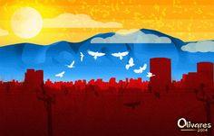 Venezuela flags by Oscar Olivares