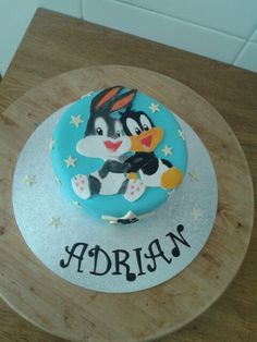 #babylooneytunes #daffy #bugsbunny #fondant #cakes #pastel #niño