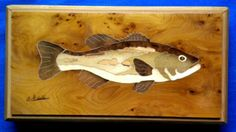 bass inlaid with burr yew, box stremmer