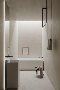 Bad Inspiration, Bathroom Inspiration, Minimalist Bathroom, Minimalist Interior, Bathroom Spa, Small Bathroom, Samos, Spa Design, Bathroom Interior Design