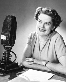 """Daphne Oxenford, voice of Watch With Mother who coined the phrase """"are you sitting comfortably"""", who has died aged 93."""