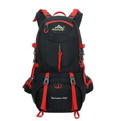 50L Lightweight Waterproof Travel Backpack