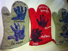 So easy to make! Great thank you gifts for kids grandma's. Plus I bought the cooking mitts at the dollars store!