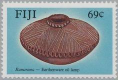 Stamp%3A%20Ramarama%20(Fiji)%20(Pottery)%20Mi%3AFJ%20584%2CSn%3AFJ%20589%2CYt%3AFJ%20585%20%23colnect%20%23collection%20%23stamps