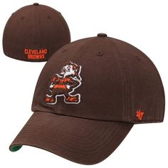 No other name is as iconic to you as the Cleveland Browns. Show your dedication to the Cleveland Browns when you cap off any look with this Franchise fitted hat from 47 Brand! It features embroidered team graphics for a bold show of Cleveland Browns pride. You can represent your favorite players in no-fuss style that keeps the focus on your unbeatable team!