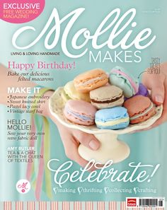 Free Felt Macarons Templates from Mollie Makes