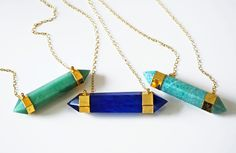 EDGE point necklace by kei