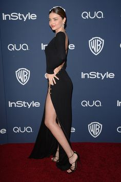 Miranda Kerr - 2014 InStyle And Warner Bros. 71st Annual Golden Globe Awards Post-Party - Photo 9
