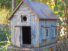 barn board birdhouses | ... Barn Birdhouse by Mill Creek Crafts . . . it . . . | Birdhouses