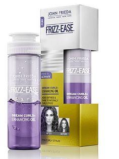 John Frieda Frizz Ease Dream Curls Enhancing Oil - CosmopolitanUK
