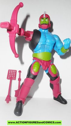 masters of the universe TRAP JAW classics 2.0 filmation cartoon style he-man