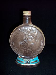 Jim Beam San Diego 200th Anniversary Liquor Bottle