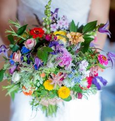 Wildflower Bouquet Inspiration