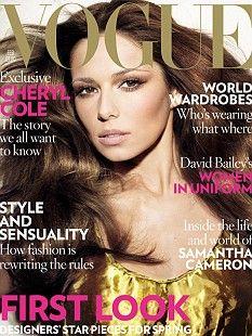 Vogue UK February 2009 - Cheryl Cole
