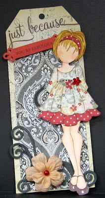 using Prima doll stamps - Google Search