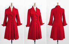 vintage 1940s coat