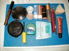 Travel makeup bag! #makeup #beauty #cosmetics #travel #makeupbag #trip #essentials