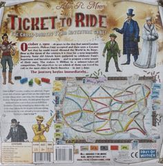 Ticket To Ride - One of the most popular specialty games of all times -    Toys 4 My Kids   One of the most popular specialty games of all time