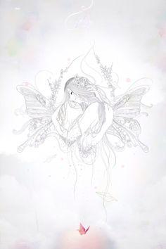 love. line illustration