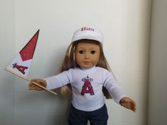 This American Girl Doll Looks Like an by DollsDamselsandDames