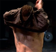 Richard Armitage as John Proctor in The Crucible (2014) (gif)