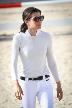 Charlotte Casiraghi of Monaco Equestrian Chic, Equestrian Outfits, Royal Fashion, Timeless Fashion, Charlotte Casiraghi Style, Preppy Style, My Style, Estilo Preppy, Estilo Real