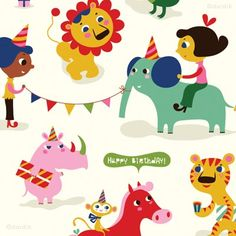 orange you lucky!: party animals . . .