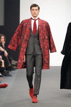 Lucas Mastrogiuseppe at Madrid Fashion Show 2016 for Lucas Balboa Model Agency Canary Islands   Agencia Modelos Canarias   Model Agencies   Production Service Agency